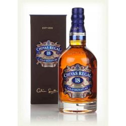 Whisky Chivas Regal Gold Signature 18Y
