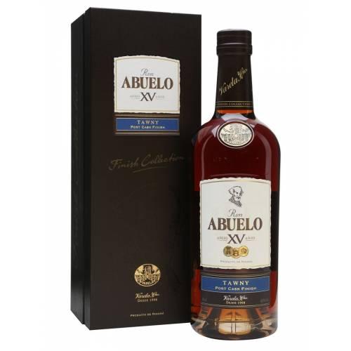 Abuelo Cask Finish Xv Tawny Rum