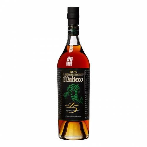Rum Maltecoron 15Y Reserva Maya