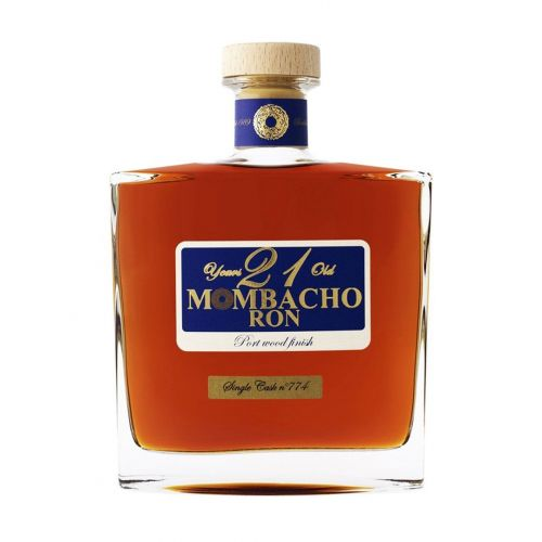Rum Mombacho 21Y Wood Finish