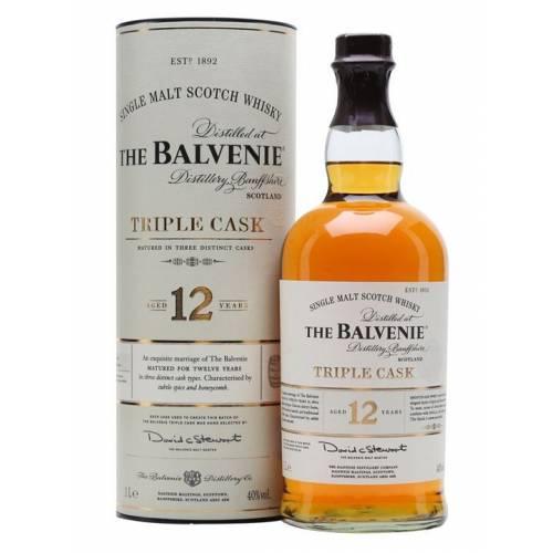 Whisky Balvenie 12Y Triple Cask 1L