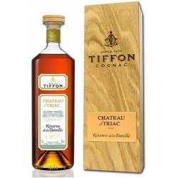 """Cognac Chateau De Triac """"RESERVE DE LA FAMILLE"""" Oak Box"""
