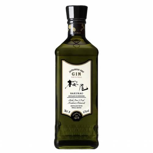 Gin Sakurao Japanese Dry