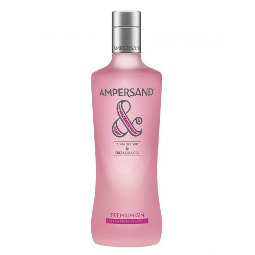 Gin Ampersand Strawberry Pink