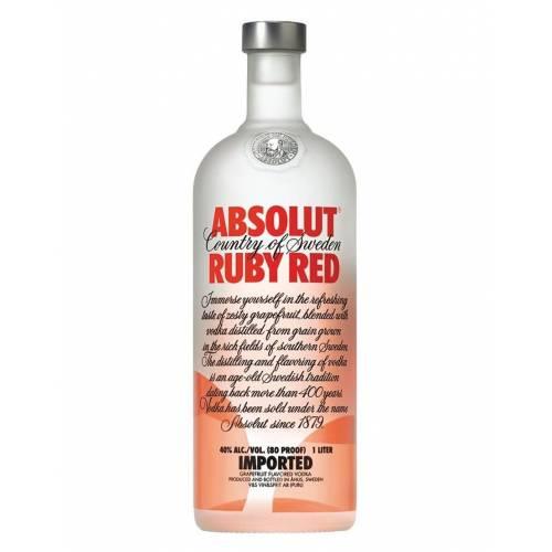 Vodka Absolut Ruby Red 1L