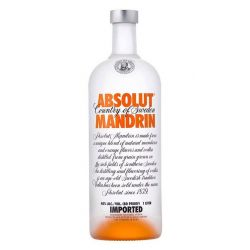 Vodka Absolut Mandrin 1L