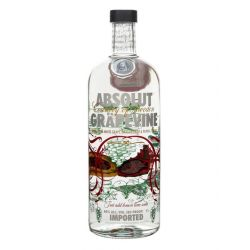 Vodka Absolut Grapevine 1L