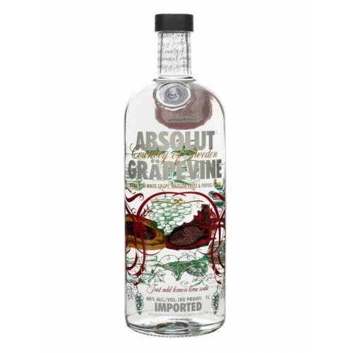 Vodka Absolut Grapevine 1L