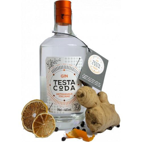 Gin TestaCoda Botanical Gin