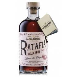 Ratafià der Alpen Likor mit Kirsche La Valdotaine
