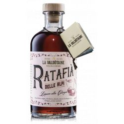 Ratafià of the Alps Liqueur with cherry La Valdotaine