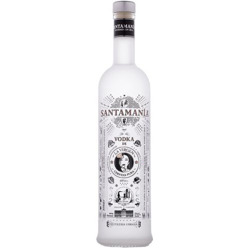 "Vodka Santamania Premium ""La Virgen"""