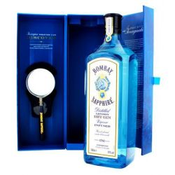 Bombay Sapphire Gin with Lens 1L