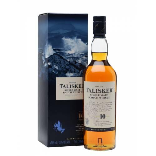 Talisker 10 years old single malt scotch whisky