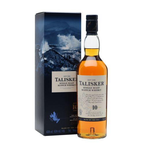 Talisker 10 years old single malt scotch whisky 1L