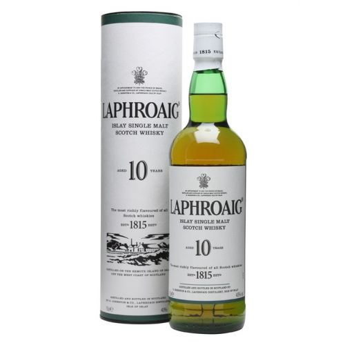 Laphroig 10Y Islay Single Malt Scotch Whisky