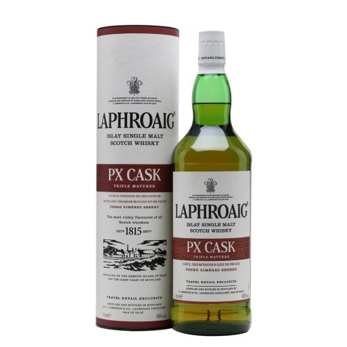 Laphroig PX Cask Islay Single Malt Scotch Whisky 1L