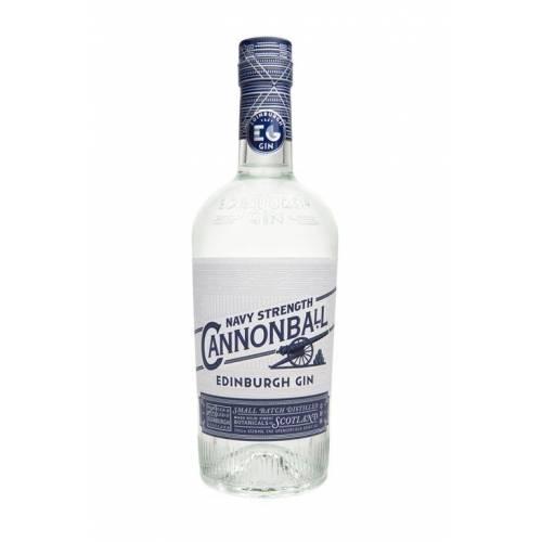 Gin Edinburgh Cannonball Navy Strenght