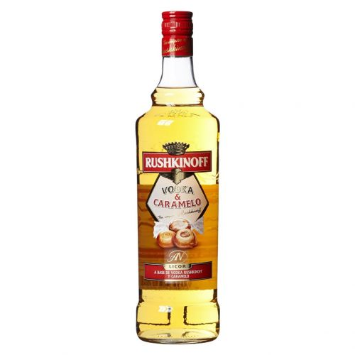 Vodka Rushkinoff Caramello