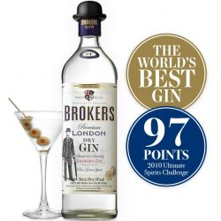 Broker's London Dry Gin 47