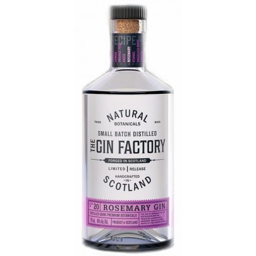 The Gin Factory Limited Release Rosemary Gin