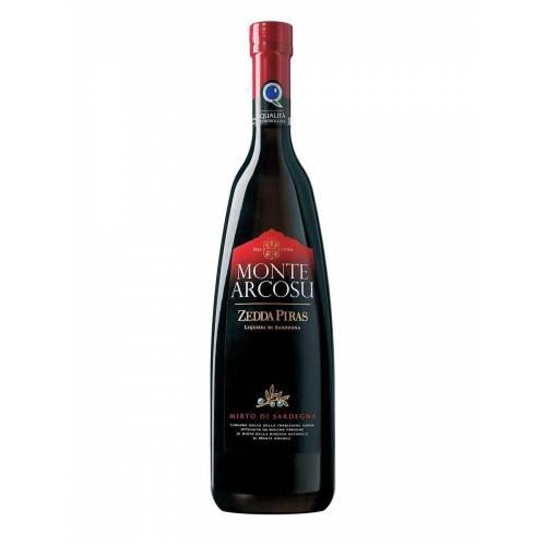 Liquore Mirto Zedda Piras Monte Arcosu Rosso