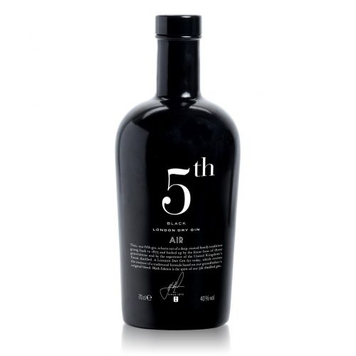 Gin 5Th Air Black London Dry