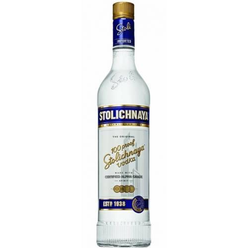 Vodka Stoli Stolichnaya 100 Proof