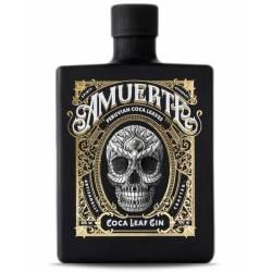 Amuerte - Coca Leaf Gin Schwarz